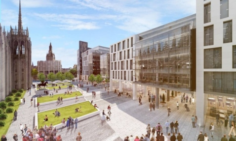 Marischal Square (Artist's Impression)